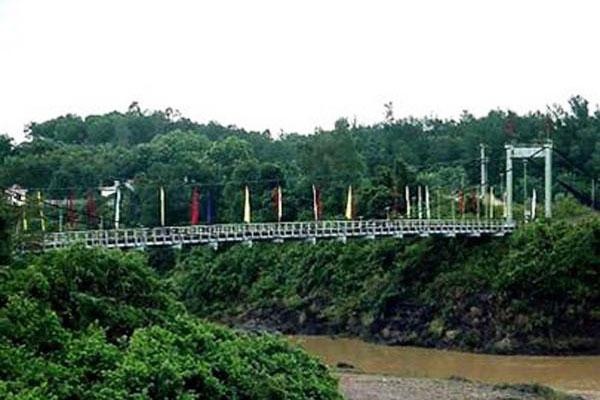 Quảng Trị: Phục dựng di tích cầu treo Bến Tắt trên đường Hồ Chí Minh