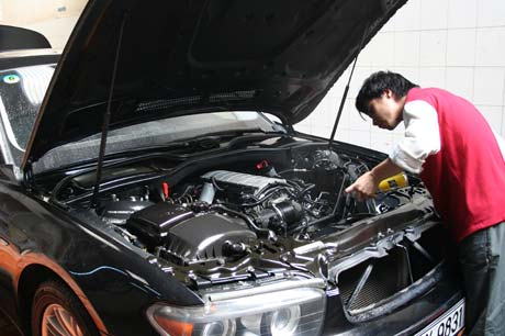 Repair automobiles, two-wheel vehicles